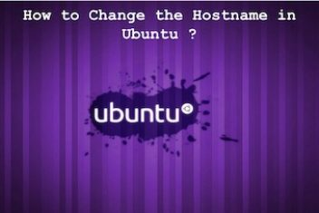 How to change the hostname in Ubuntu