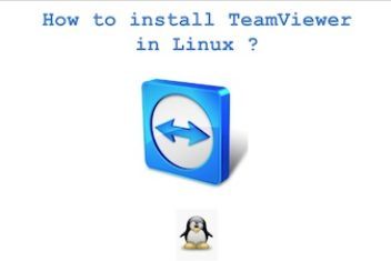 How to install TeamViewer on Linux