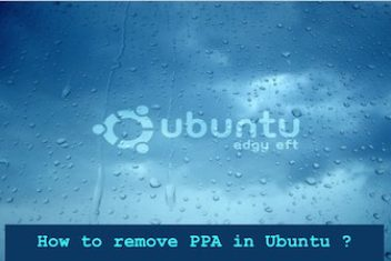 How to remove PPA in Ubuntu ?