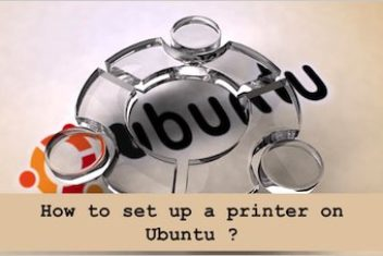 How to set up a printer on Ubuntu ?