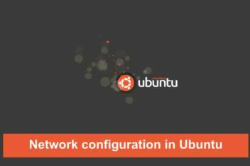 Network configuration in Ubuntu