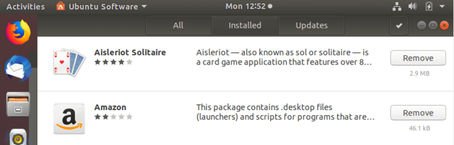 How to install and uninstall applications on Ubuntu ? A