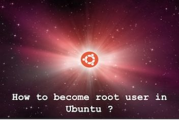 How to become root user in Ubuntu