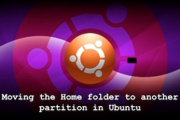 Moving the Home folder to another partition in Ubuntu