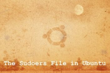 The Sudoers File in Ubuntu