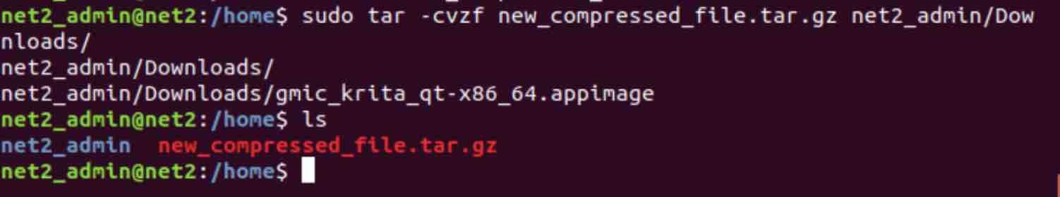 How to use the Tar command in Linux to compress and extract files