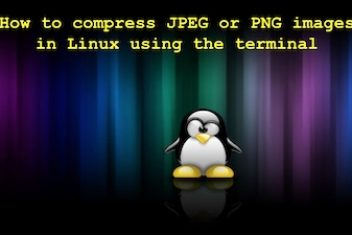 How to compress JPEG or PNG images in Linux using the terminal