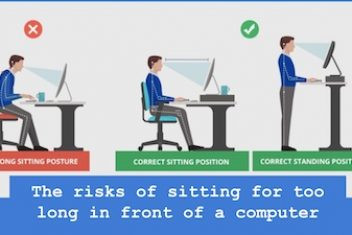 The risks of sitting for too long in front of a computer