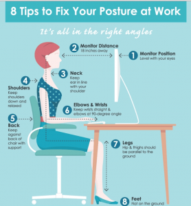 tips for a good posture