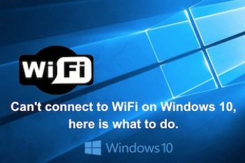 Can't connect to WiFi on Windows 10, here is what to do.