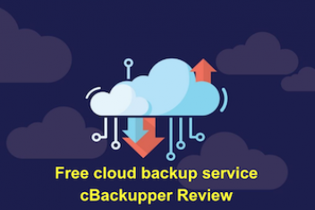 Free cloud backup service cBackupper Review