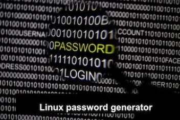 Linux password generator