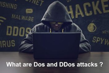What are DoS and DDoS attacks?