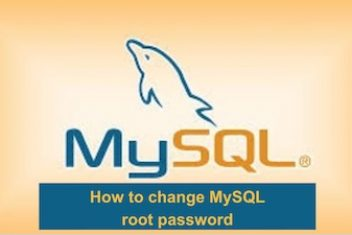 How to change MySQL root password