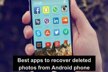 Best apps to recover deleted photos from Android phone
