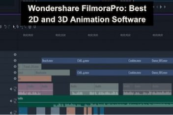Wondershare FilmoraPro: Best 2D and 3D Animation Software