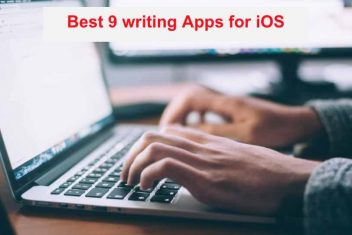 Best 9 writing Apps for iOS