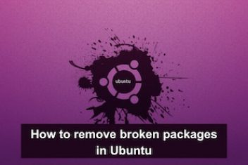 How to remove broken packages in Ubuntu