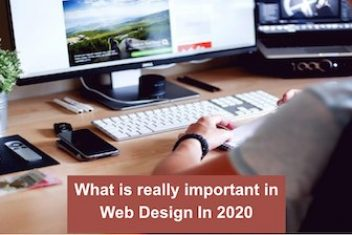 What is really important in Web Design in 2020