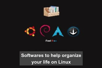 Softwares to help organize your life on Linux