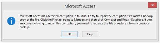 5 Ways To Fix Microsoft Access Has Detected Corruption In This File Error