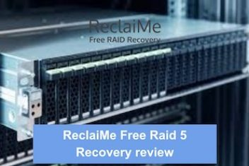 ReclaiMe Free Raid 5 Recovery review