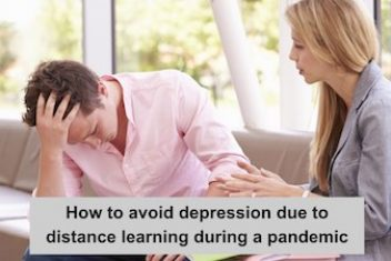How to avoid depression due to distance learning during a pandemic