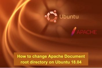 How to change Apache Document root directory on Ubuntu 18.04