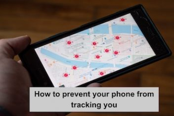 How to prevent your phone from tracking you