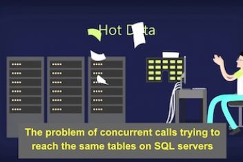 The problem of concurrent calls trying to reach the same tables on SQL servers