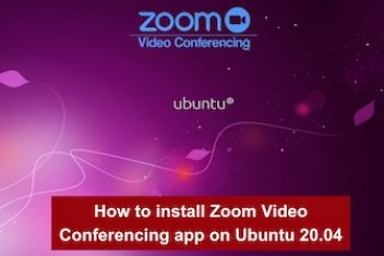 How to install Zoom Video Conferencing app on Ubuntu 20.04