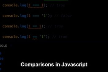 Comparisons in Javascript
