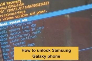 How to unlock Samsung Galaxy phone