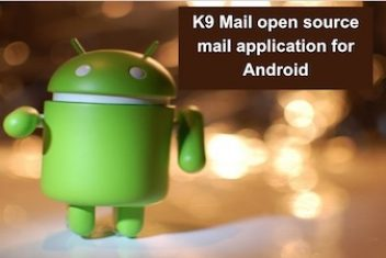 K9 Mail open source mail application for Android