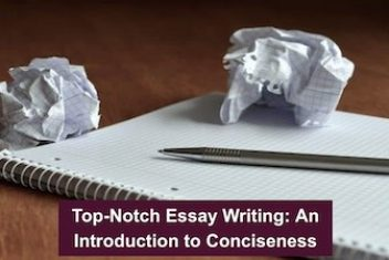Top-Notch Essay Writing: An Introduction to Conciseness