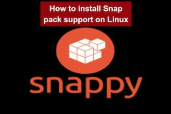 How to install Snap pack support on Linux
