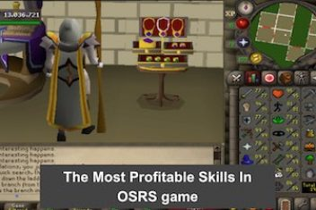 The Most Profitable Skills In OSRS game