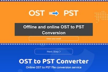 Offline and online OST to PST Conversion