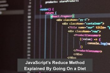 JavaScript's Reduce Method Explained By Going On a Diet