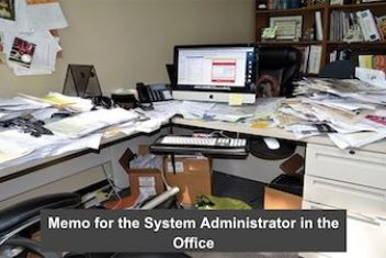 Memo for the System Administrator in the Office