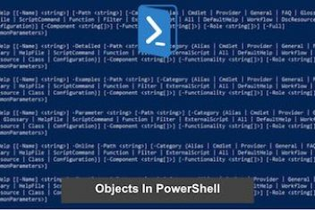 Objects In PowerShell