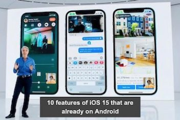 10 features of iOS 15 that are already on Android