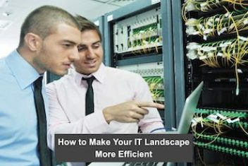 How to Make Your IT Landscape More Efficient