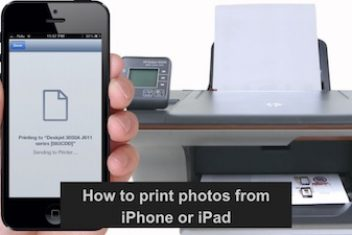 How to print photos from iPhone or iPad
