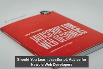 Should You Learn JavaScript, Advice for Newbie Web Developers